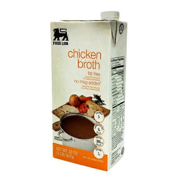 Food Lion Chicken Broth 32 Fl Oz From Food Lion Instacart