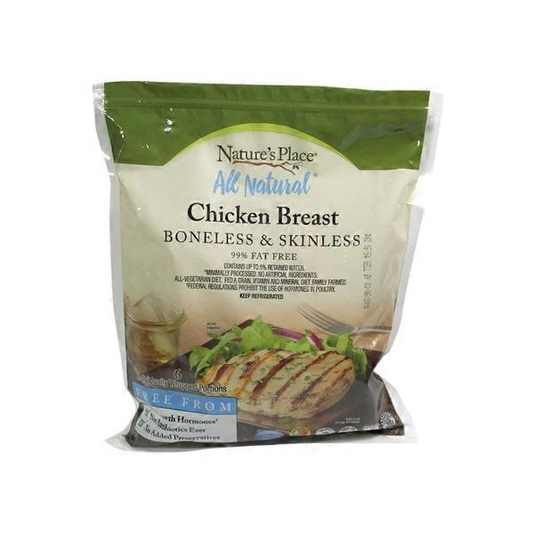 Natures Place Natural Chicken Breast 24 Oz From Food Lion Instacart