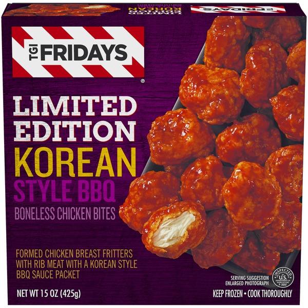 TGI Fridays Korean Style Bbq Boneless Chicken Bites (15 oz