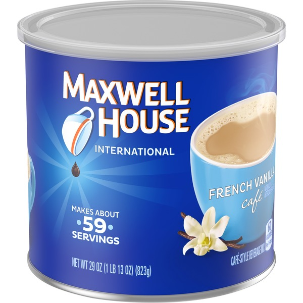 Maxwell House International Cafe Instant Flavored French