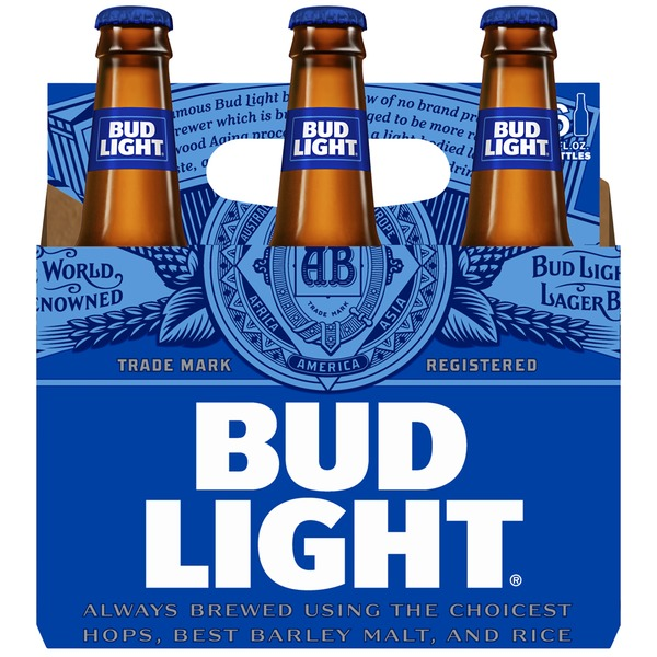 Bud Light Beer LN Btl
