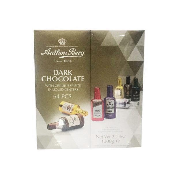 Anthon Berg Dark Chocolate With Genuine Spirits In Liquid