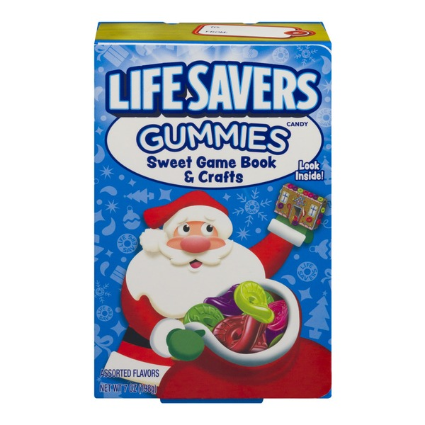 lifesavers life savers gummies candy sweet game book crafts from