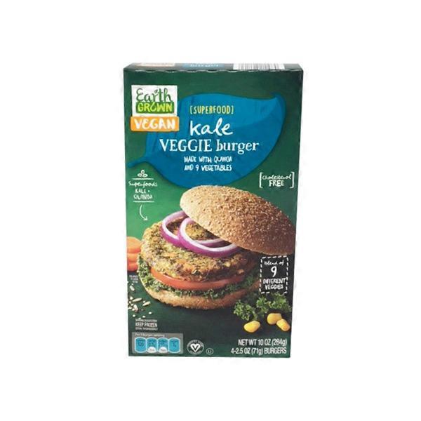 Simply Nature Kale Veggie Burger (10 oz) from ALDI - Instacart