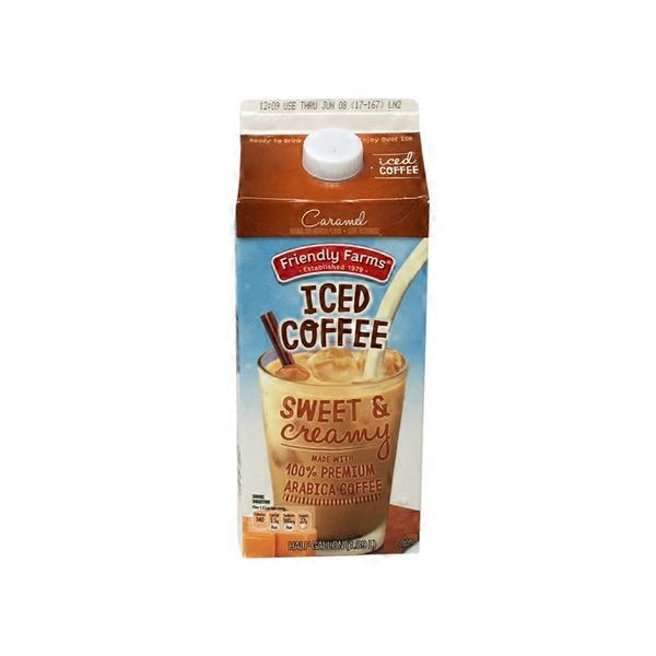 a13d6d4b325 Friendly Farms Caramel Iced Coffee (64 fl oz) from ALDI - Instacart