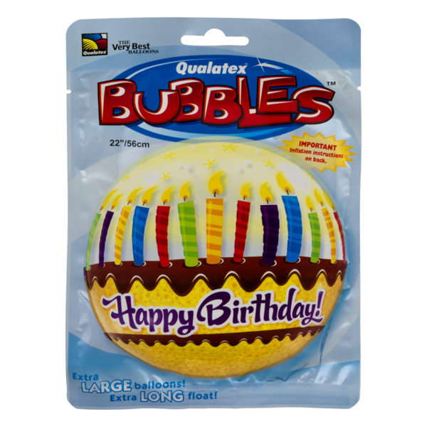 Qualatex Balloon Birthday Candy Frosting