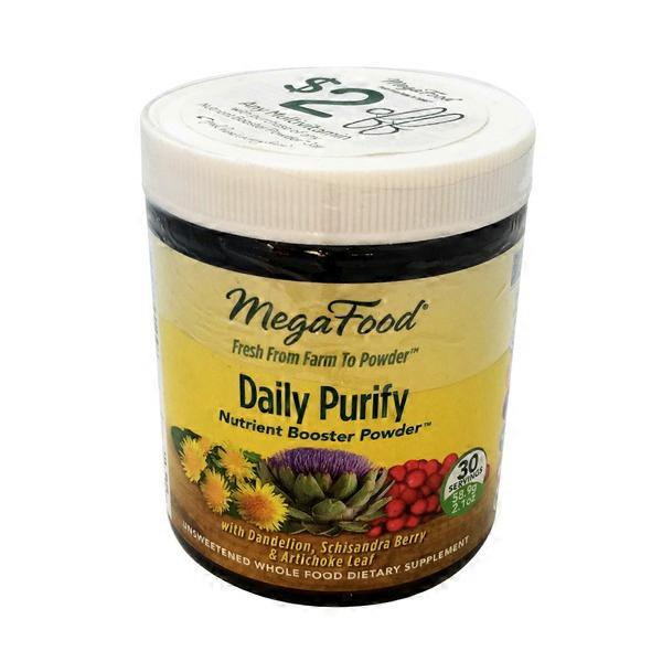 Megafood Daily Purify Nutrient Booster Powder Dietary Supplements