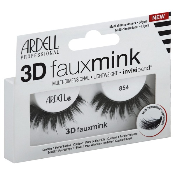 b4c5310edfa Ardell Lashes, Fauxmink, 3D, 854 (1 each) from CVS Pharmacy® - Instacart
