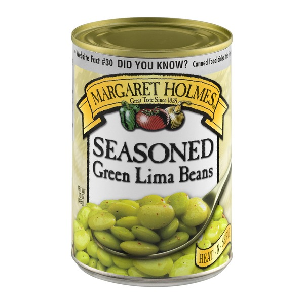 Margaret Holmes Seasoned Green Lima Beans (15 oz) from
