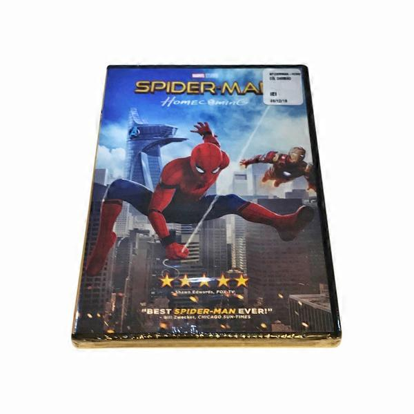 Sony Pictures Spiderman: Homecoming - 2017 DVD (1 ct
