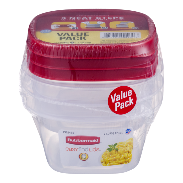 Rubbermaid Easy Find Lids Value Pack from Rouses Markets Instacart