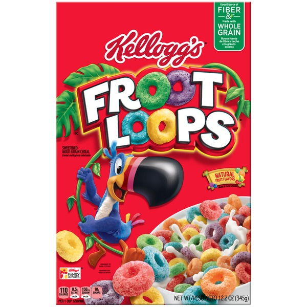 kellogg s froot loops cereal from stop shop instacart