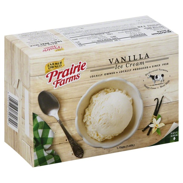 Prairie Farms Ice Cream Vanilla
