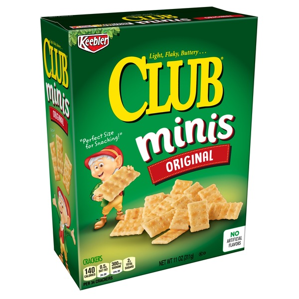 Keebler Club Crackers Original (11 oz) from CVS Pharmacy