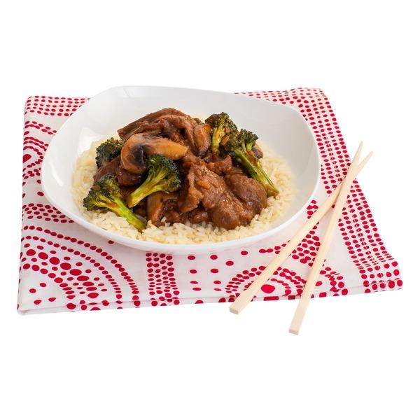 Peapod Big Bowl Meal Kit: Beef & Broccoli with Jasmine Rice