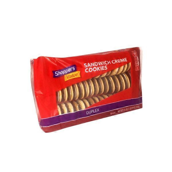 Shoppers Value Duplex Sandwich Creme Cookies (25 Oz) From