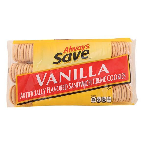 Always Save Vanilla Sandwich Cookies (25 oz) from Price