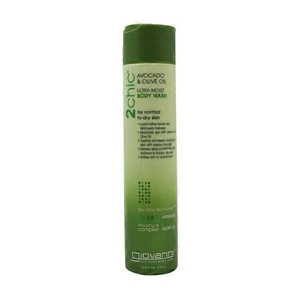 3245d8c4fecf Giovanni Body Wash, Ultra-Moist, Avocado & Olive Oil (10.50 oz) from ...