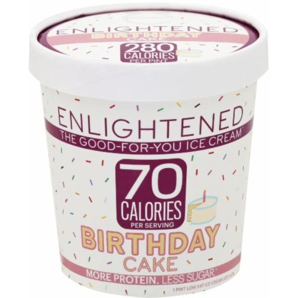 Enlightened Birthday Cake Pint 1 Pt From Super Foods