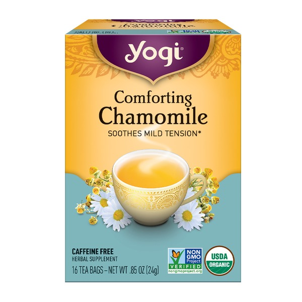 Yogi Comforting Chamomile Herbal Supplement 085 Oz From Cvs