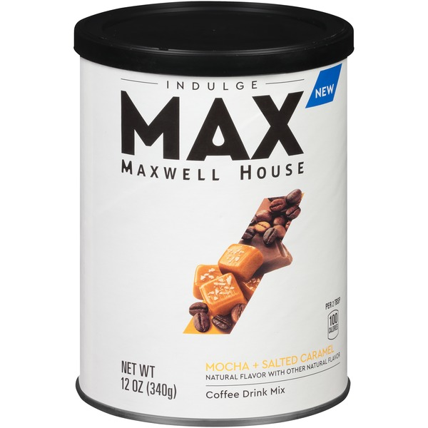 Maxwell House Max Indulge By Mocha Salted Caramel Instant
