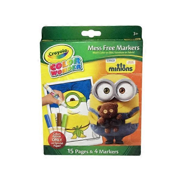 Crayola Markers & Coloring Pad, Minions (1.00 ea) from Cub ...