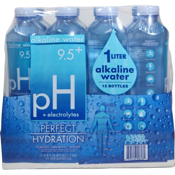 Perfect Hydration Alkaline Purified Drinking Water (33 8 fl