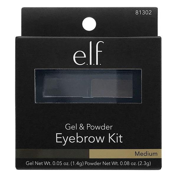 Gerbes Elf Gel Powder Eyebrow Kit Medium
