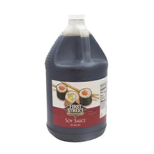 First Street Soy Sauce 1 Gal From Smart Amp Final Instacart