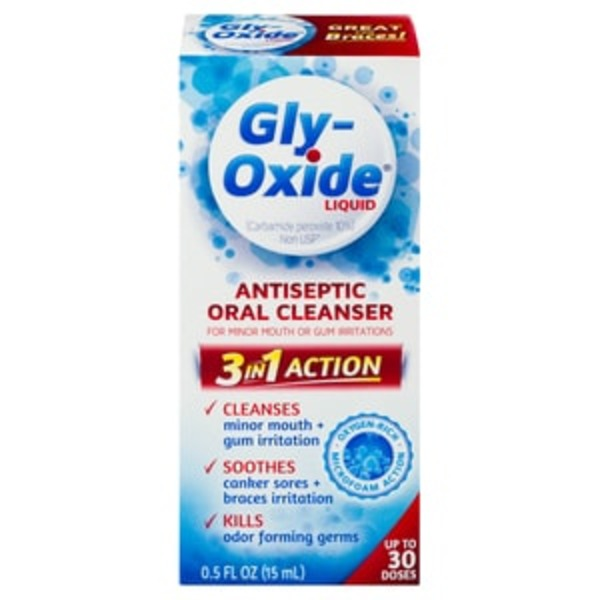 Gly Oxide Antiseptic Oral Cleanser, Liquid (0 5 oz) from