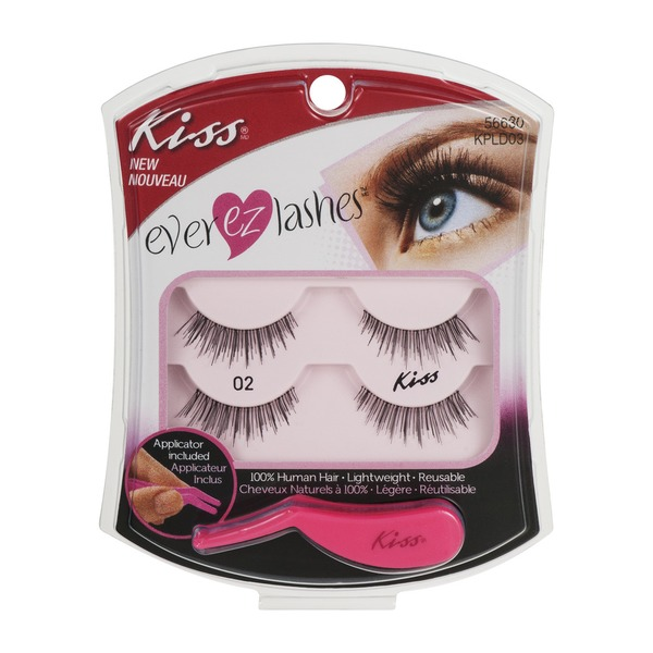 af0141368ac Kiss Ever EZ Lashes Double Pack 02 (2.0 pr) from Jewel-Osco - Instacart
