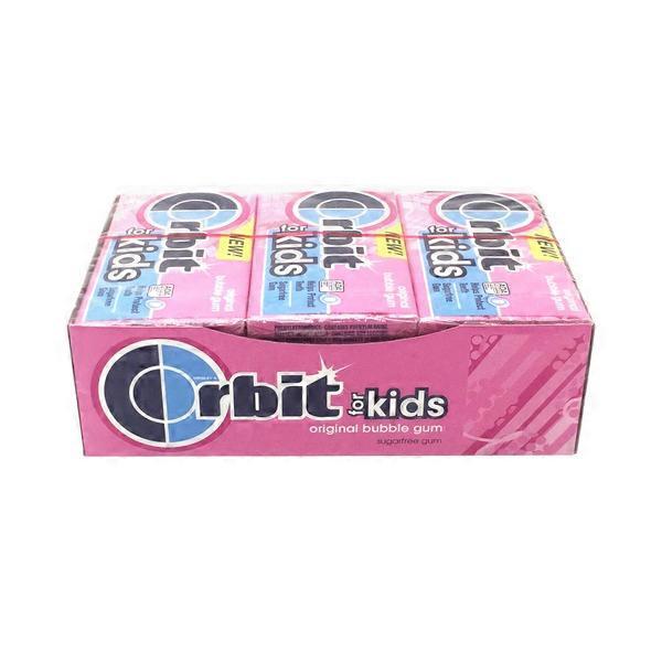 Orbit for kids original sugar free bubble gum 14 ct from smart final instacart - Five smart uses of sugar ...
