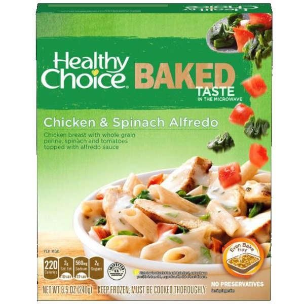 Healthy Choice Chicken Alfredo Florentine 85 Oz From Kroger