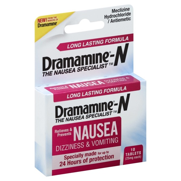 Dramamine N, 25 mg, Tablets (18 each) from Schnucks - Instacart