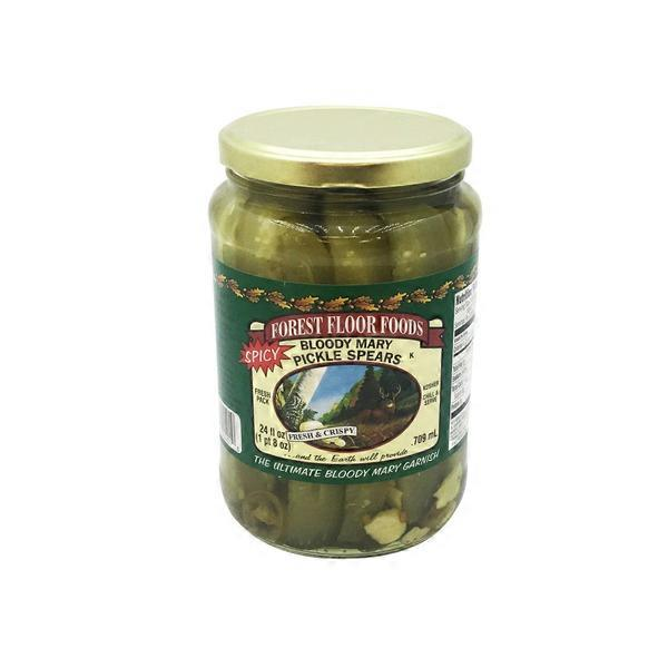 Forest Floor Foods Bloody Mary Pickles 24 Fl Oz From