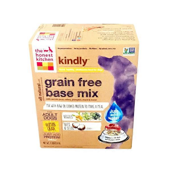 The Honest Kitchen Kindly Carrot Grain Free Base Mix For