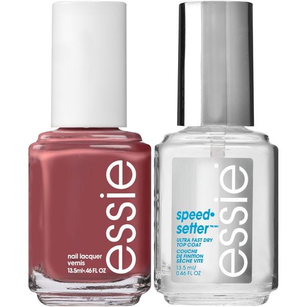 Essie® Clothing Optional Polish & speed.setter Top Coat Nail Polish ...