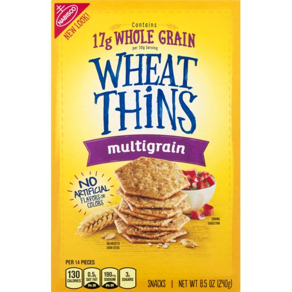 Wheat Thins Nabisco Multigrain (8 5 oz) from Safeway - Instacart