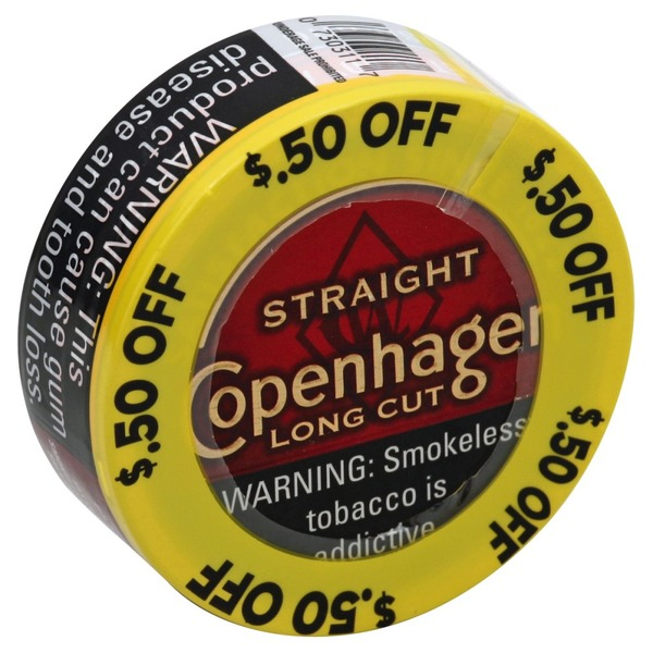 Red seal smokeless tobacco