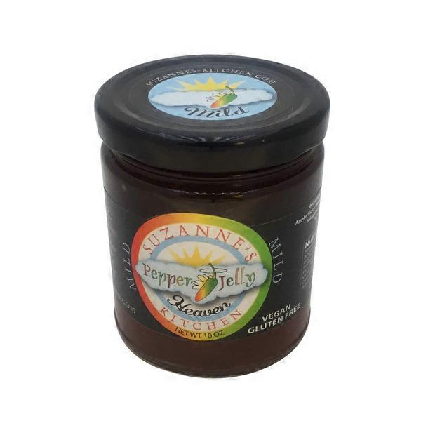 Suzanne S Kitchen Pepper Jelly Mild 10 Oz From Acme