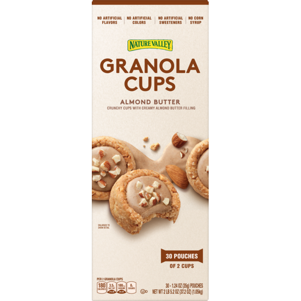 Nature Valley Almond Butter Granola Cups (1 24 oz) from