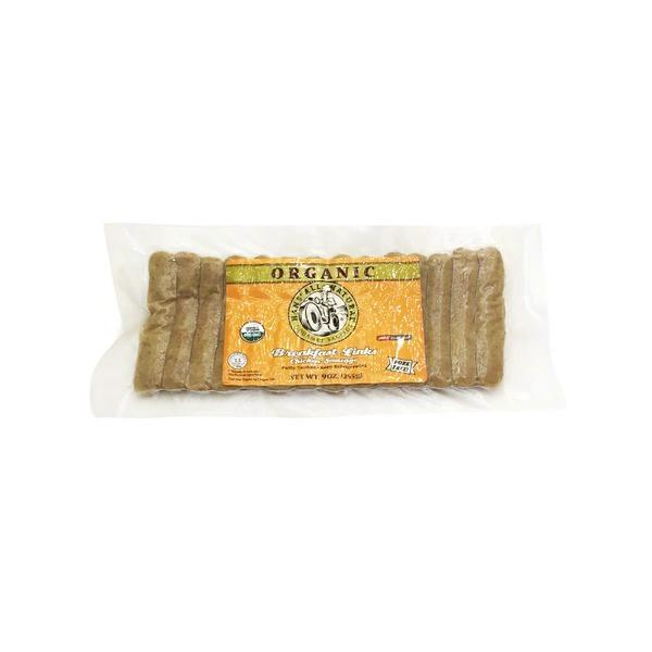 Hans All Natural Organic Breakfast Links Chicken Sausage 9 Oz From