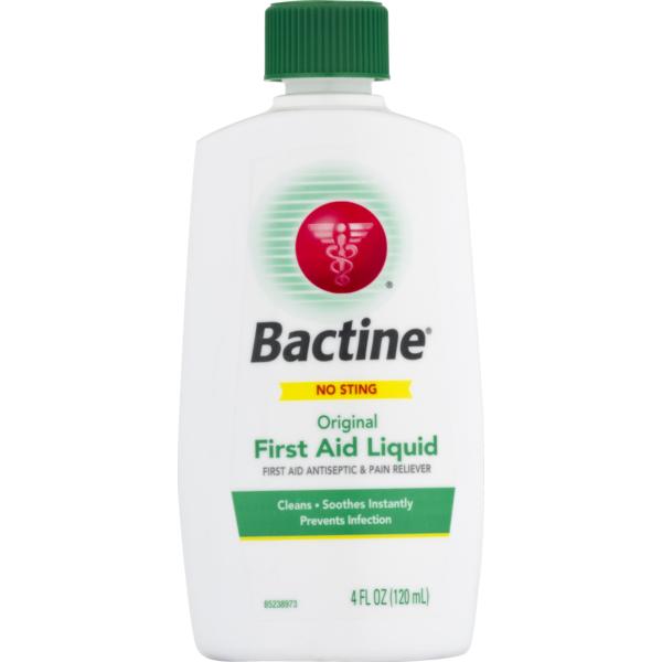 Bactine Original First Aid Liquid No Sting (4 fl oz) from