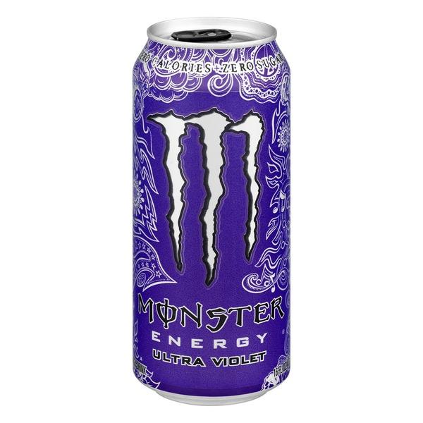 Monster Energy Drink Ultra Violet (16 fl oz) from Giant