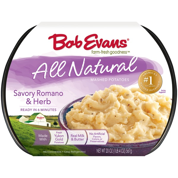 Bob Evans All Natural Savory Romano & Herb Bob Evans All