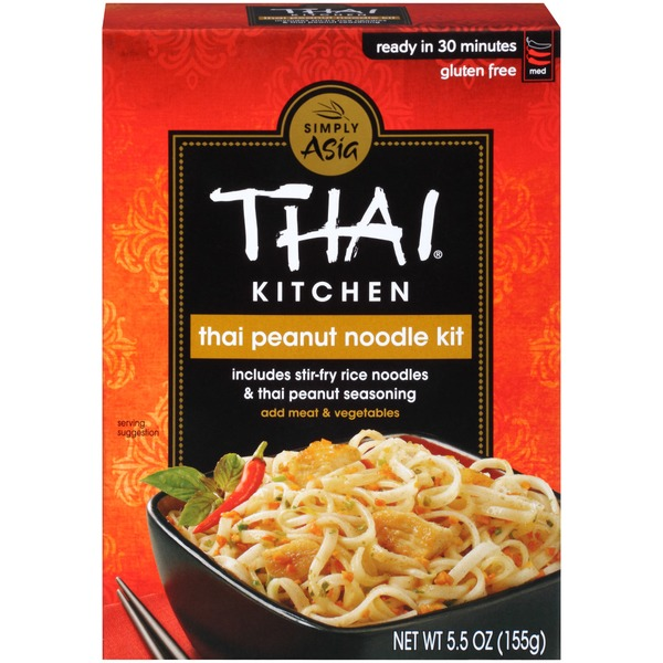thai kitchen thai peanut stir fry noodle kit from ralphs instacart rh instacart com