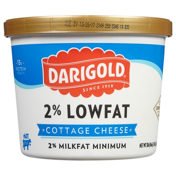 Marvelous Darigold 2% Lowfat Cottage Cheese