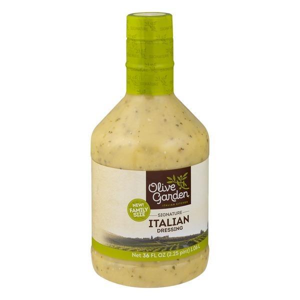 olive garden signature italian dressing 36 fl oz from albertsons instacart - Olive Garden Italian Dressing
