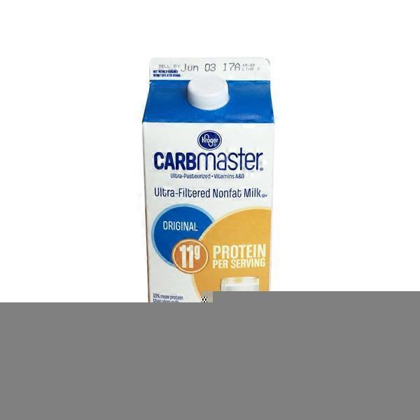 Kroger Carbmaster Reduced Sugar Nonfat Milk 64 Fl Oz