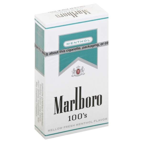 Marlboro Cigarettes Silver Pack Menthol 100 S 20 00 Ea From
